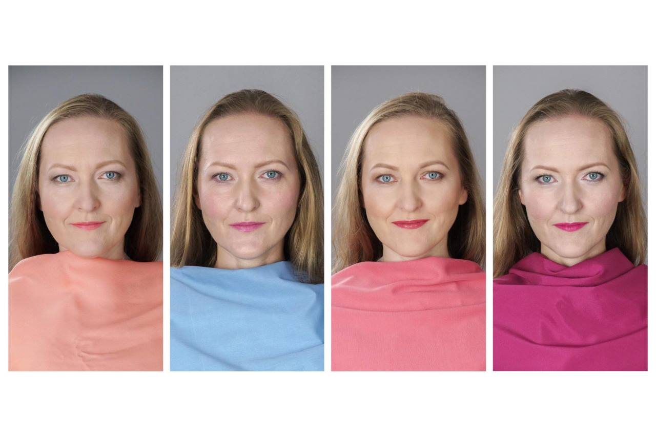 four versions of one woman